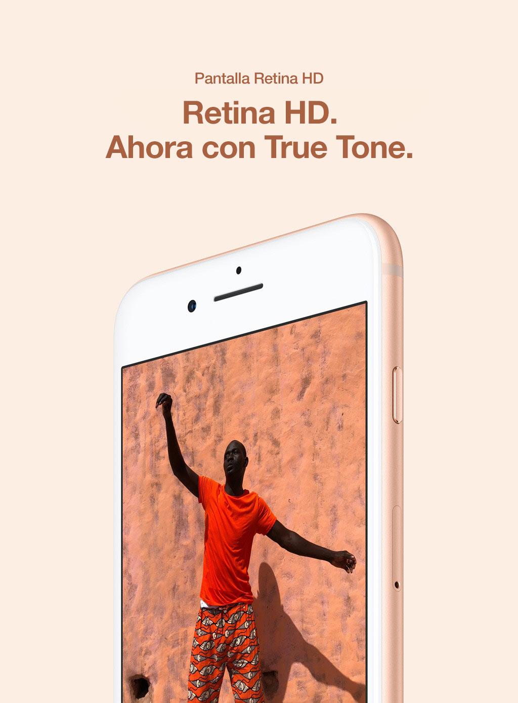 Retina HD. Ahora con True Tone.