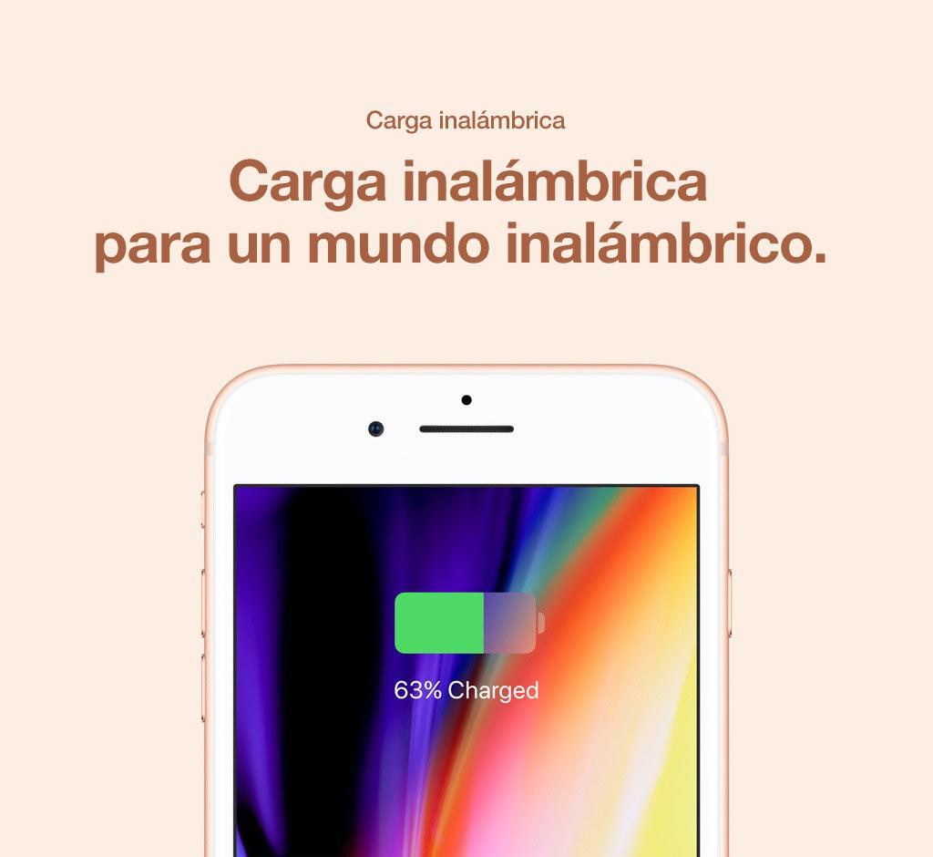 Sin la necesidad de un cable de carga, el iPhone 8 está realmente diseñado para el futuro en la tecnología inalámbrica.
