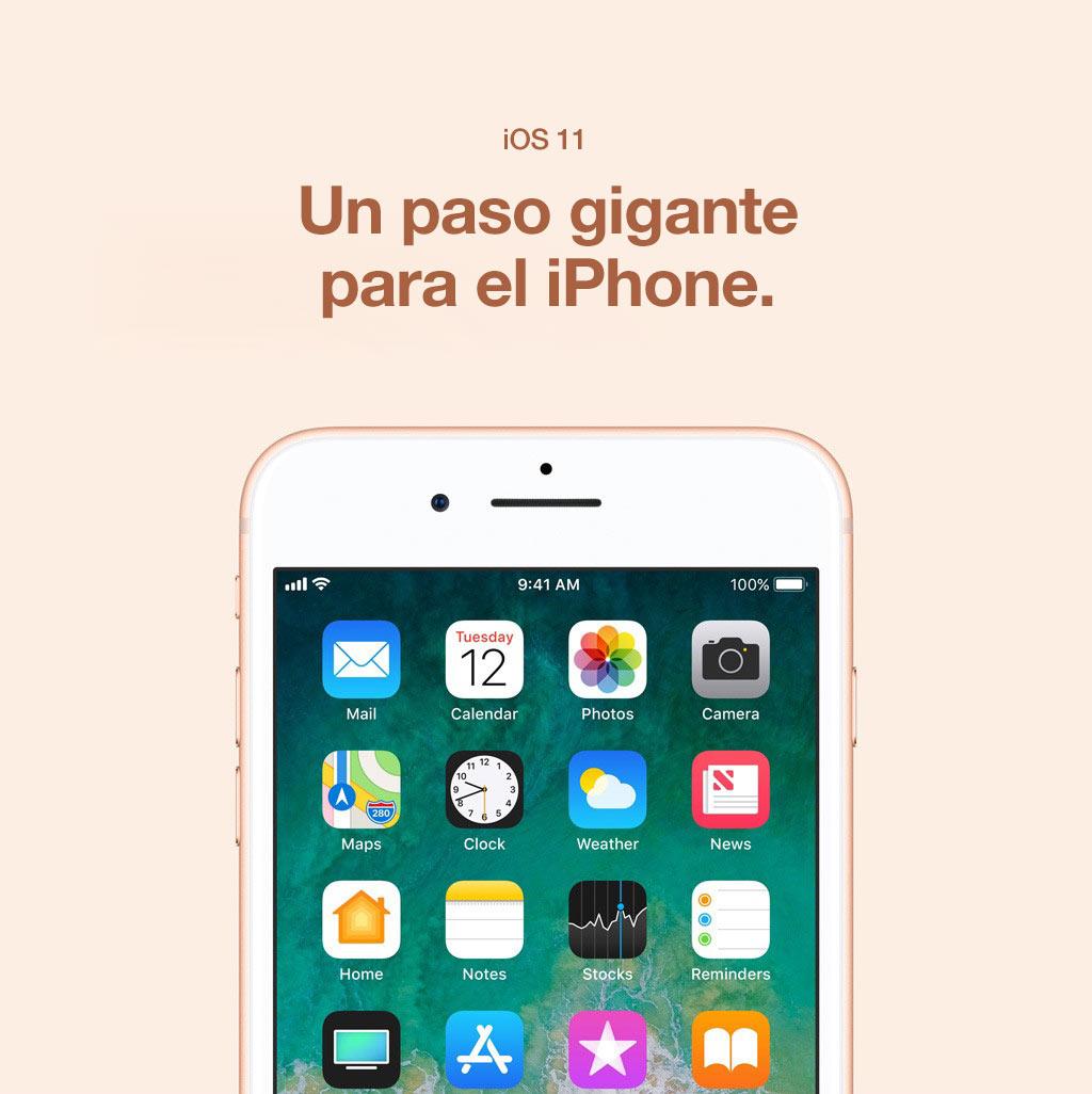 iOS 11. Un paso gigante para el iPhone.
