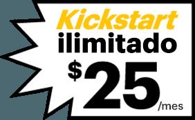 Unlimited Kickstart por $25