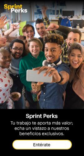 Sprint Perks: Tu trabajo te beneficia con más; echa un vistazo a nuestros beneficios exclusivos. Entérate.