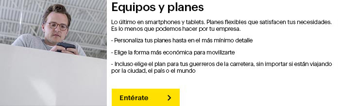 Dispositivos y planes